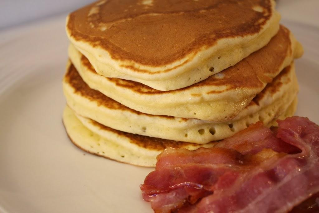 amerikanska pannkakor utan mjölk recept