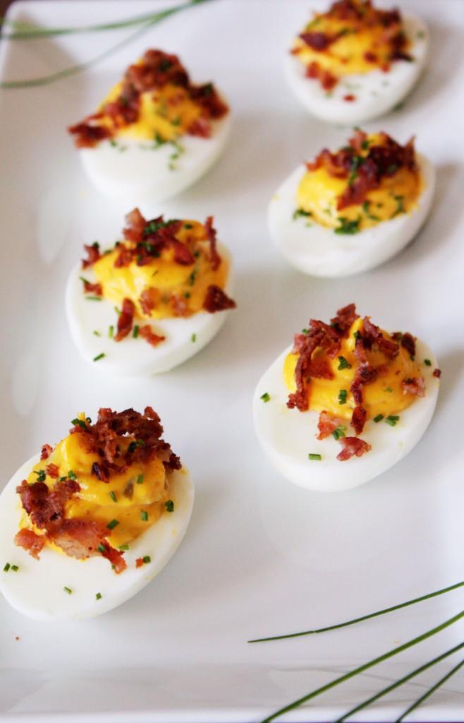 deviled eggs jalapeno bacon delliedelicious fyllt ägg