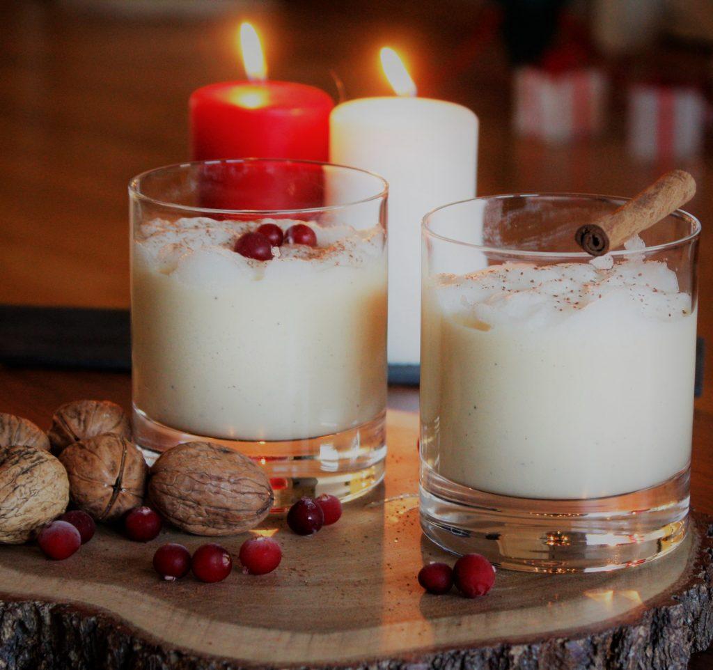 eggnog rum delliedelicious christmas drink