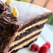 Chokladtårta med Dulce de Leche kräm