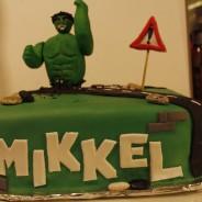Hulken-tårta (Blåbärstårta med en hint av citron)
